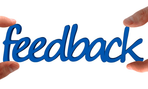 Feedbacks from your users