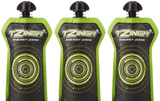 Tzinga Energy Drink Lemon Mint