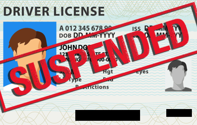 Reinstate a suspended driver's licence