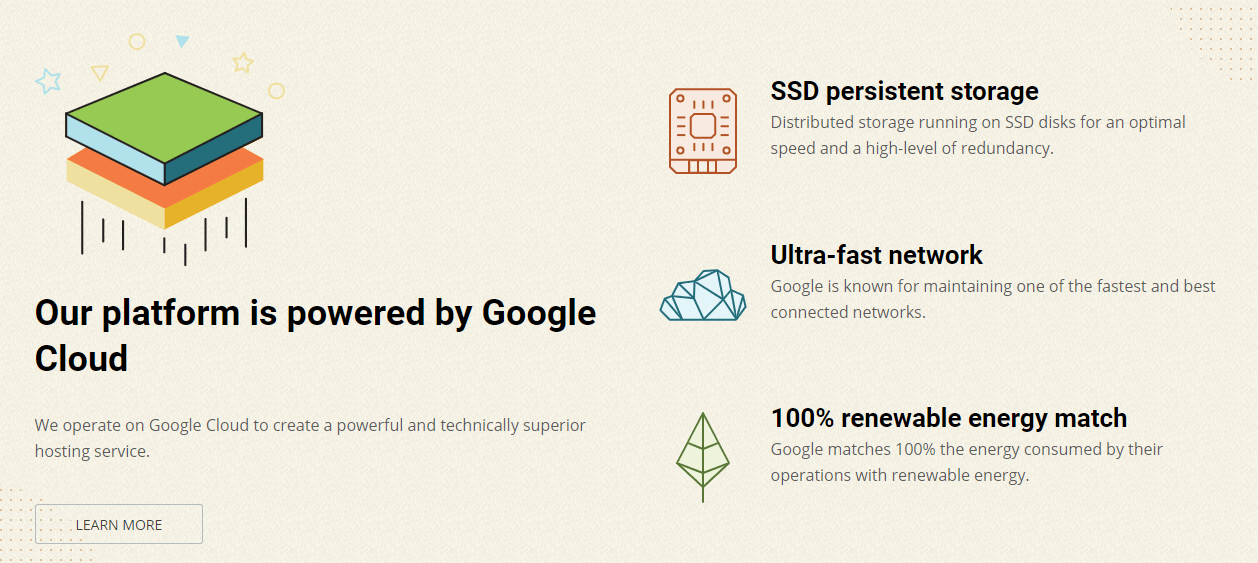 SiteGround - Powered by Google Cloud