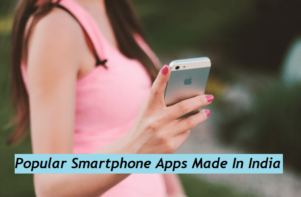 Made In India Apps List