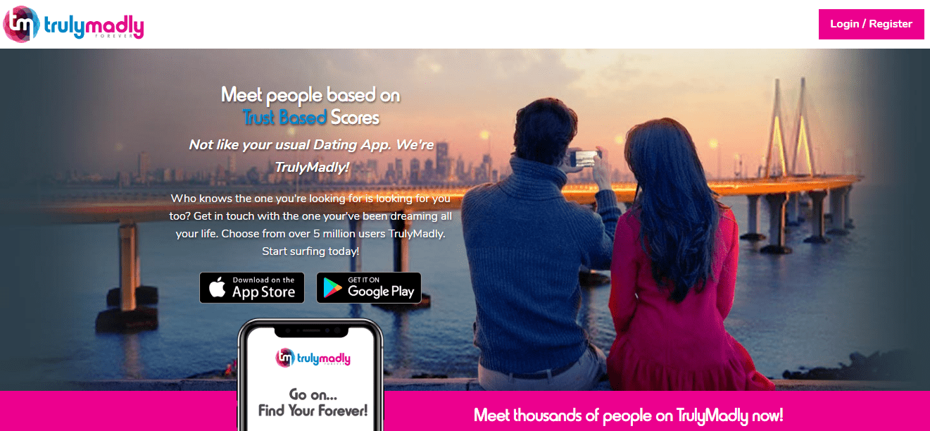 TrulyMadly - Dating for singles in India