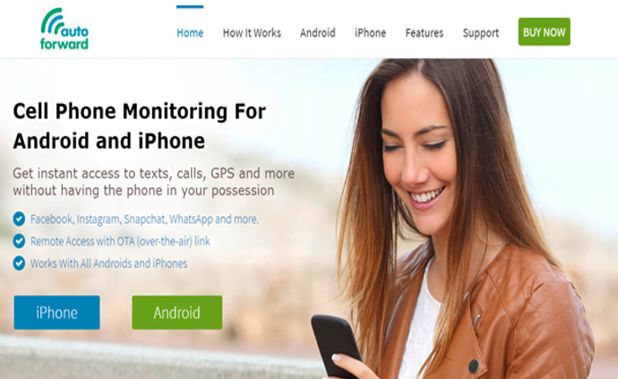 Auto Forward - Cell Phone Monitoring