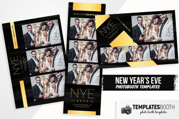 NYE Photo Booth Template