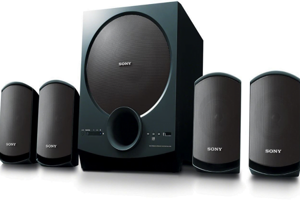 Sony SA-D40 4.1 Channel Multimedia Speaker System with Bluetooth