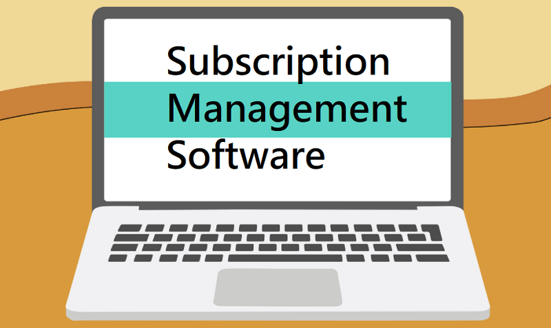 Subscription Management Software